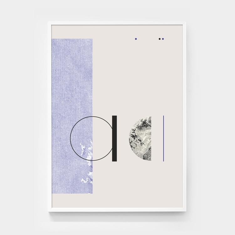 Typography mixed graphic etchin - andrebritz   ello