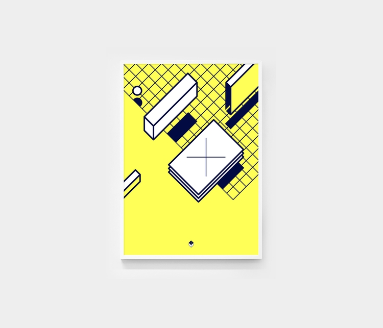 Square 3 - artwork,, design,, shapes, - andrebritz | ello