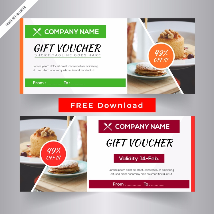 Free Download Gift vouchers tem - zaas | ello