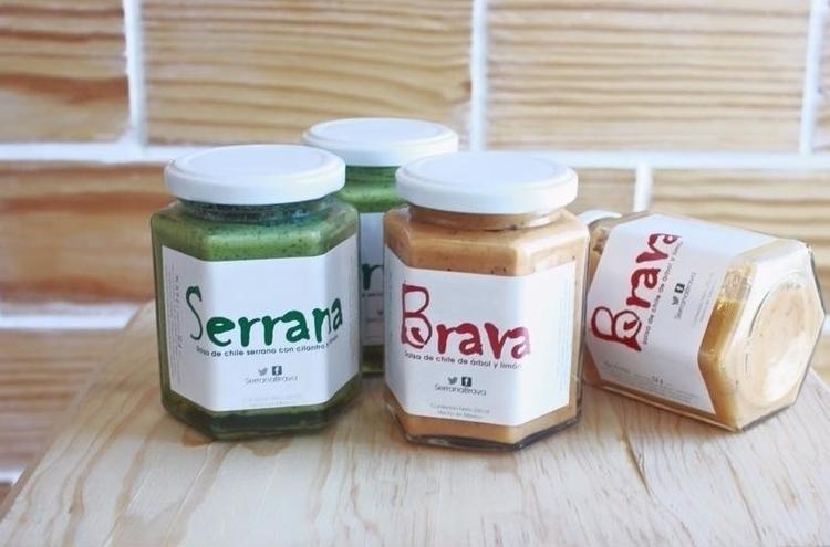 Salsas SerranaBrava - food, art - gmaciasg | ello