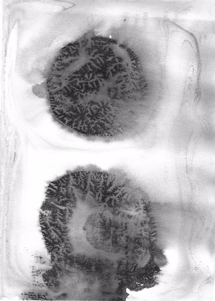experiment dendritic printing w - sya | ello