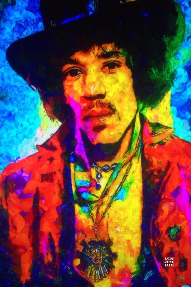 Hendrix II original piece creat - vonzombie | ello