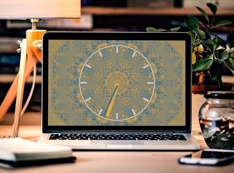 Desktop Clock - clock, fun, novelty - artlikesyou | ello