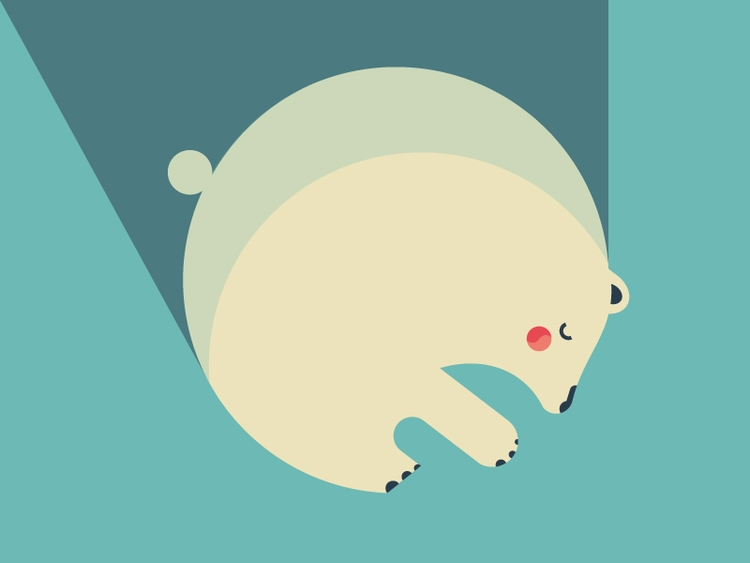 CUTE DETAIL - bear, illustration - chiara_morra | ello