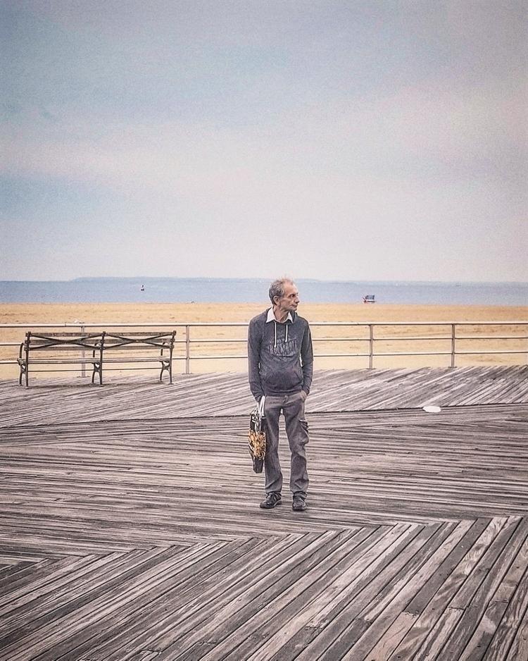 Coney Island - beach, newyork, boardwalk - francesco_shank | ello