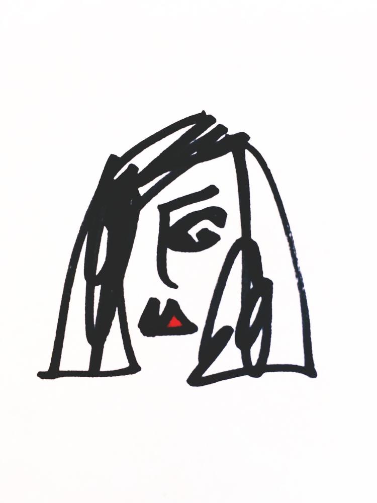 art, drawing, illustration, minimalism - jkalamarz   ello