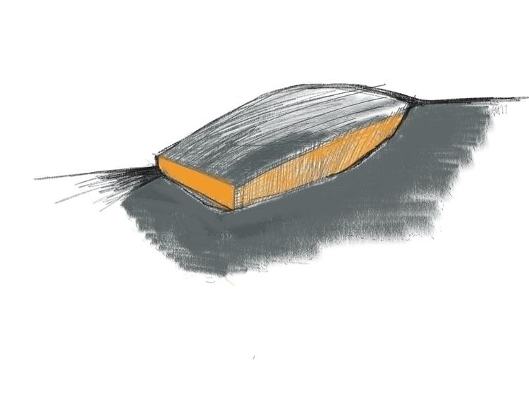 Boat Building landscape sketch - angelo_arch | ello