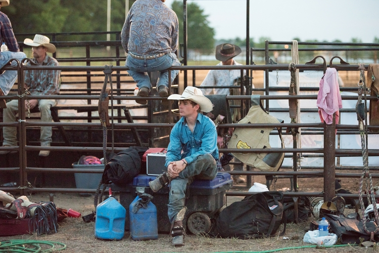 Deserved Rest - Bull Rider take - kmoyer | ello