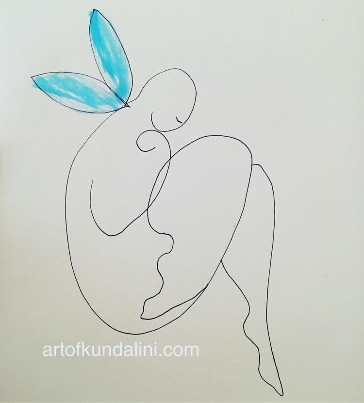 Sketch angel number 6 Creative  - arnabaartz | ello