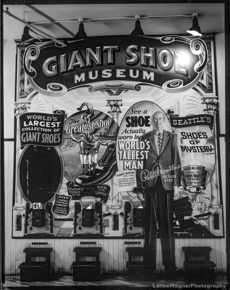Shoe Museum - GraflexSuperGraphic - lancewagnerphotography | ello