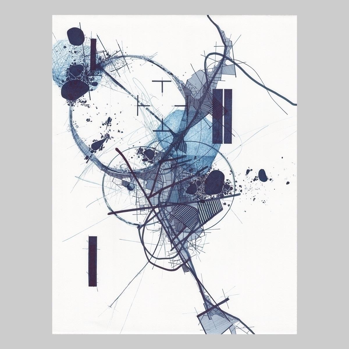 Asvirus 67, 2016 Ink paper 26 2 - dereklerner | ello