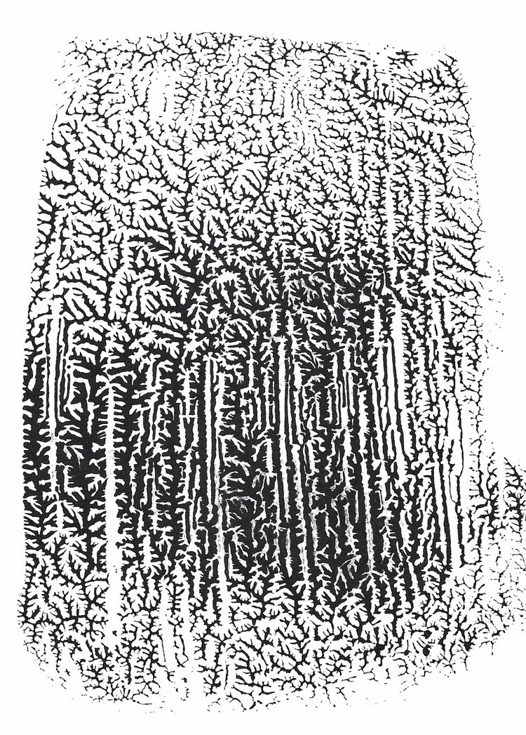 Untitled - Dendritic print 1/1 - sya | ello