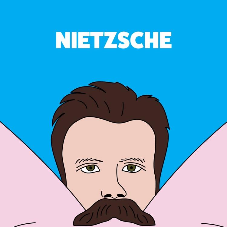 mustaches / friedrich nietzsche - goker | ello