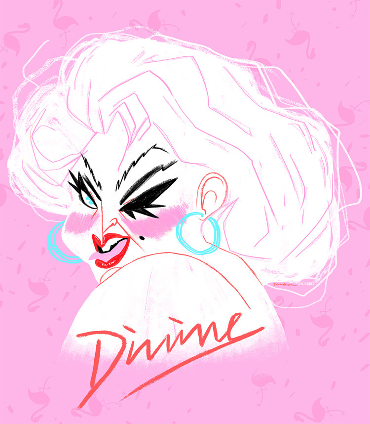 Divine - art, illustration, pop - eduardorama | ello