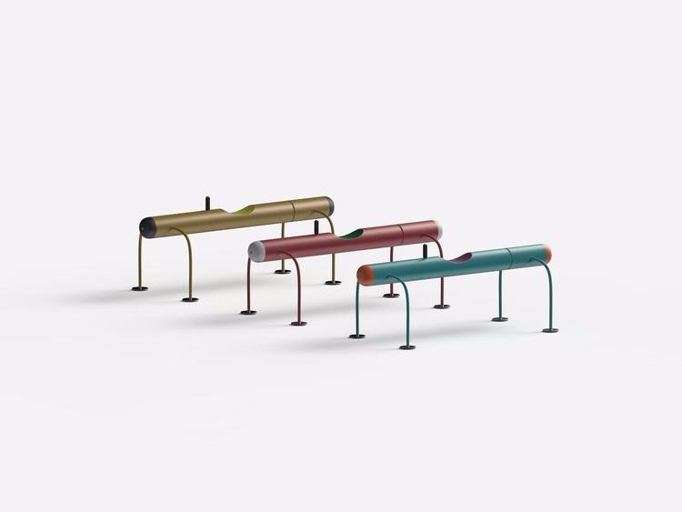 bench - design, shape, color - chengtaoyi | ello