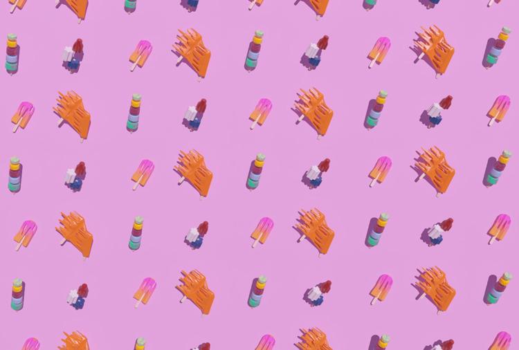 En été - Pattern, Popsicles, Summer - aaaronkaufman | ello