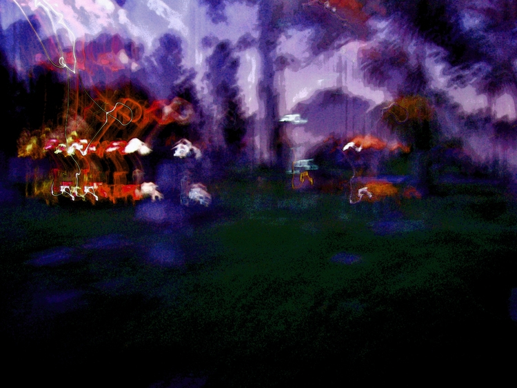 Cemetery Night - cemetery, weird - sirhowardlee | ello