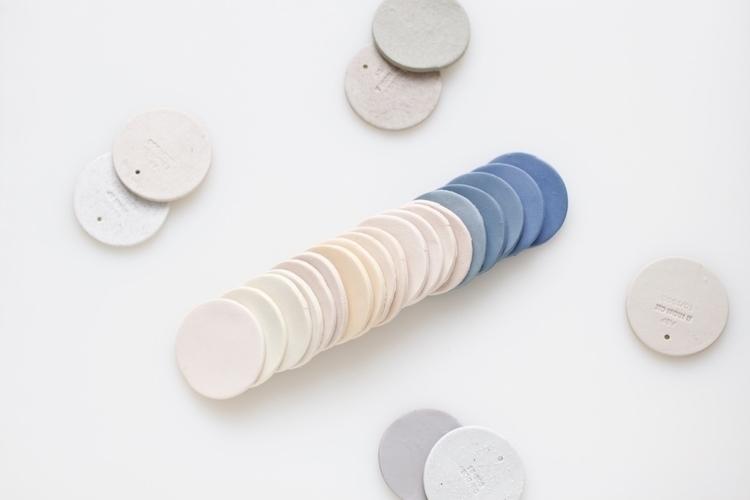 Colour samples porcelain bodies - elliottceramics | ello