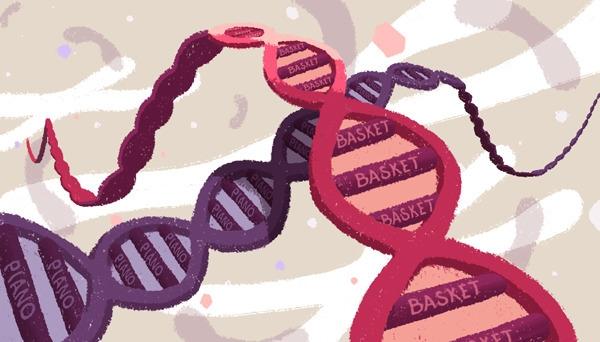 Genetic Talent - Editorial Prac - laurent_illo | ello
