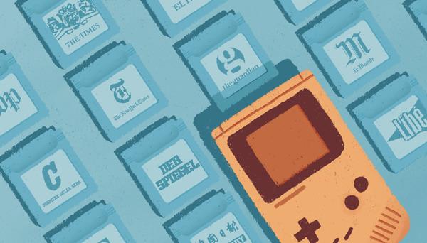 Newsgame - Editorial Games jour - laurent_illo | ello