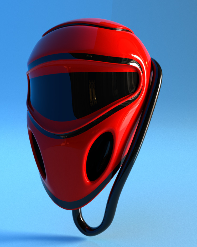 Working today - helmet, 3d, 3dmodel - solutuminvictus | ello