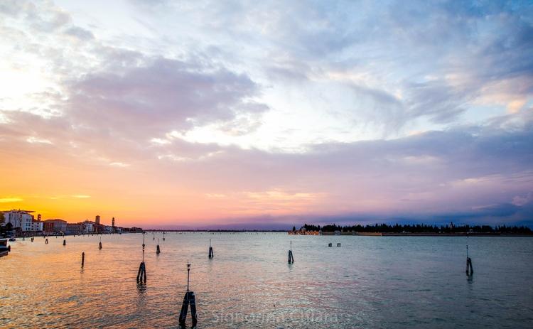 sunset - venezia, venice, colours - chiaralucissimi | ello