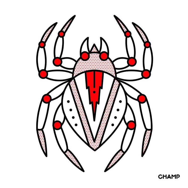 Spider - spider, insect, bug, gross - champnyc | ello