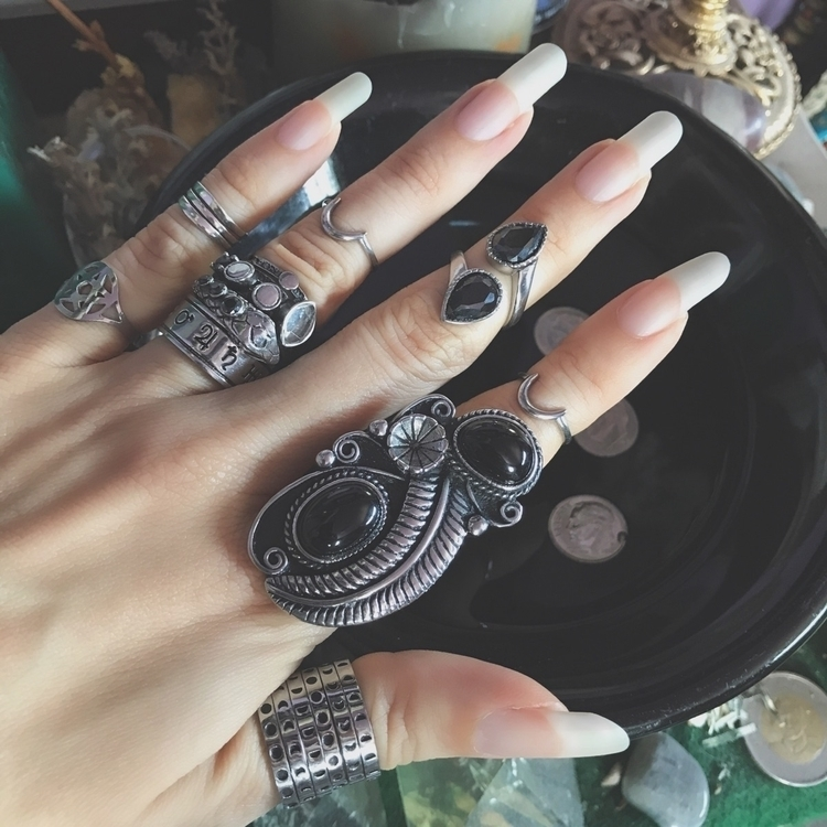 Tomorrow Song Nikkal Moon Phase - evil_pawn_jewelry | ello