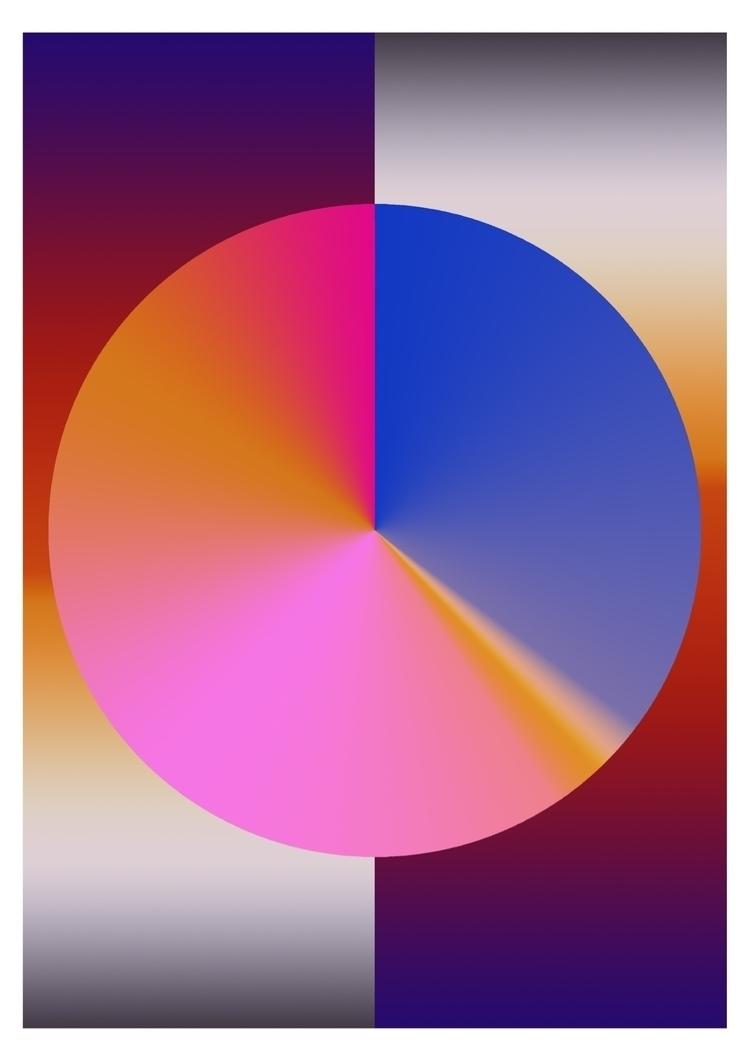 colour, gradient, circle, geometric - darlingdesign | ello