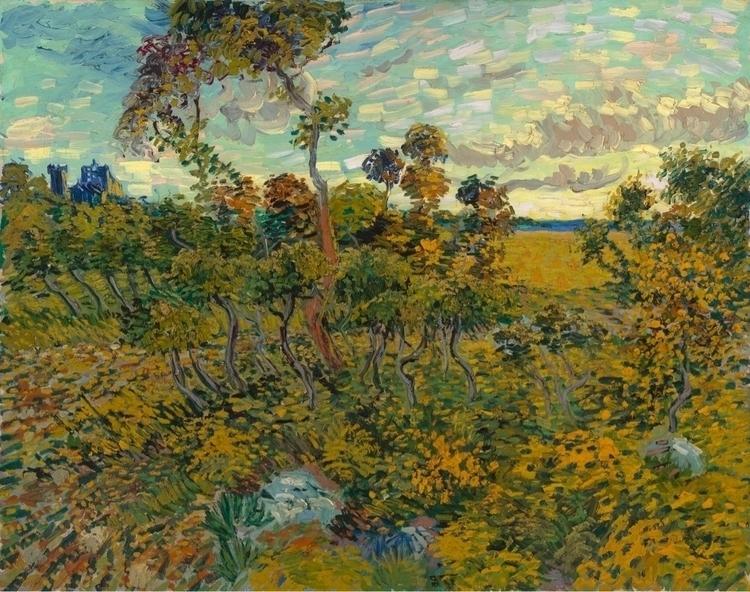 Sunset Montmajour Vincent Van G - bitfactory | ello