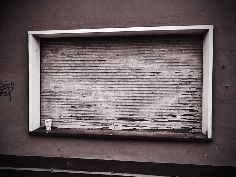 Closed Window - monochrome, monochromephotography - borisholtz | ello