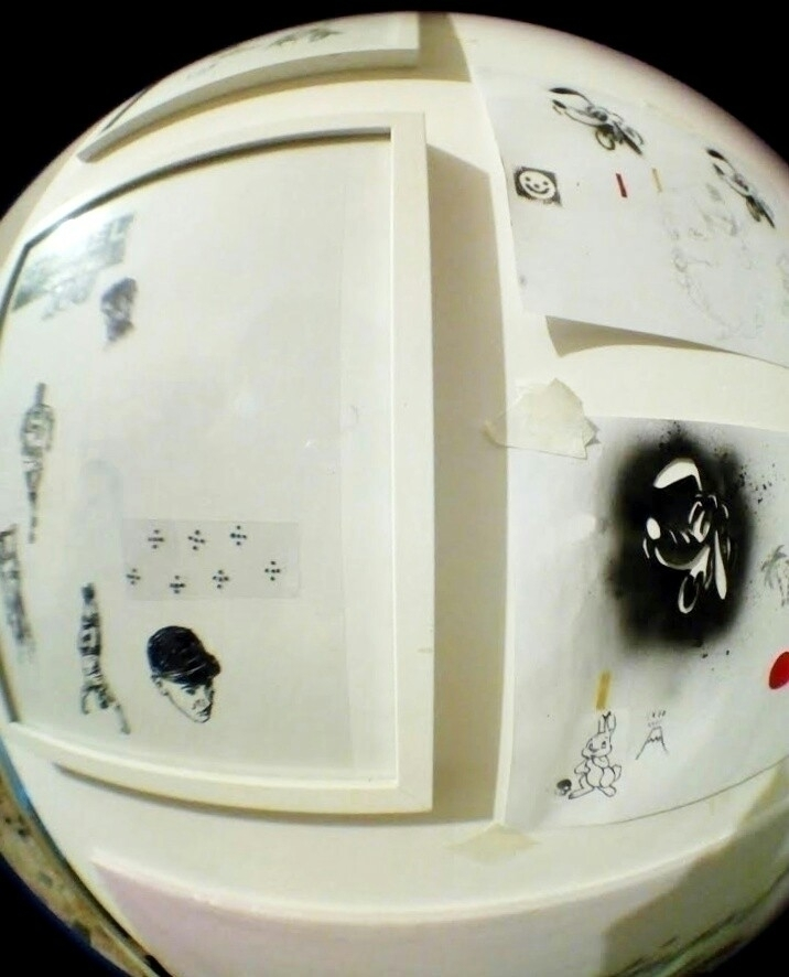 Fisheye view artworks compositi - leezahooper | ello