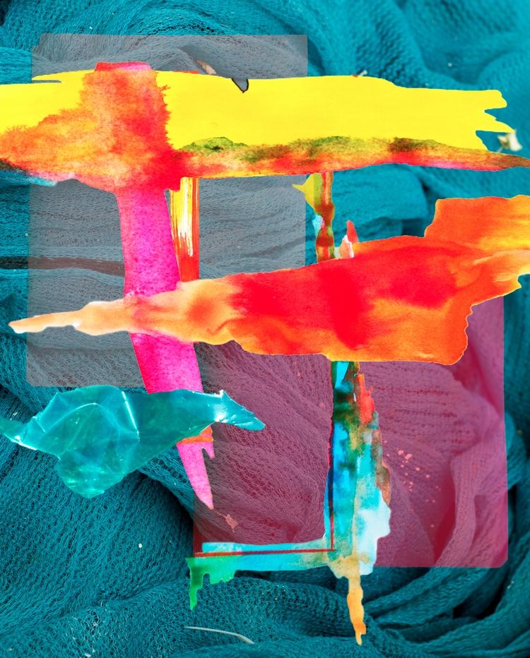 Abstract layers - collage, digitalcollage - jasminpelz | ello
