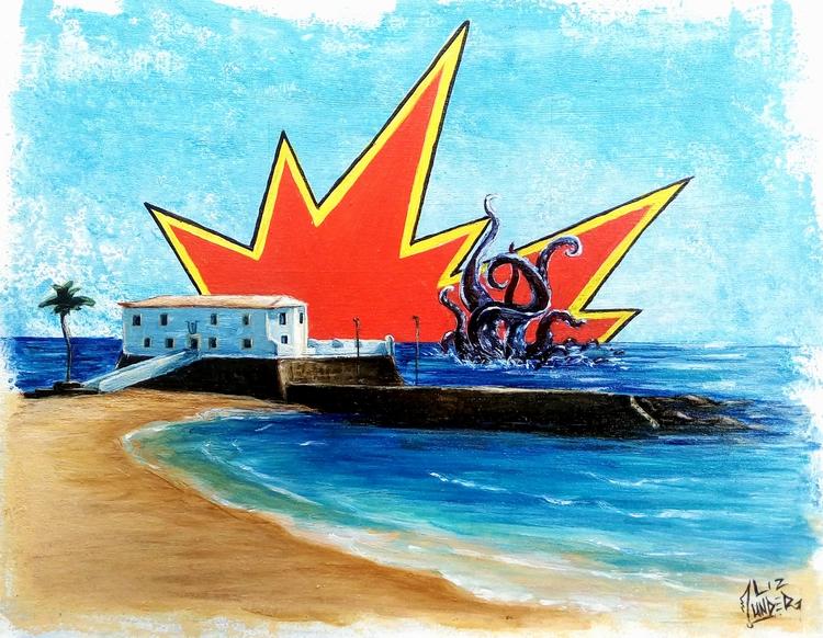 Forte St. Maria, acrylic canvas - lizunder | ello