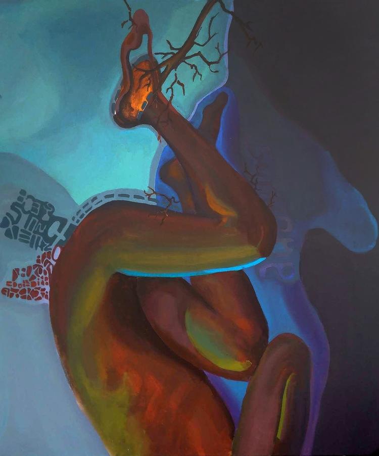 System guilt / 90x80cm acrylic  - bartlomiej_michal_gorecki | ello
