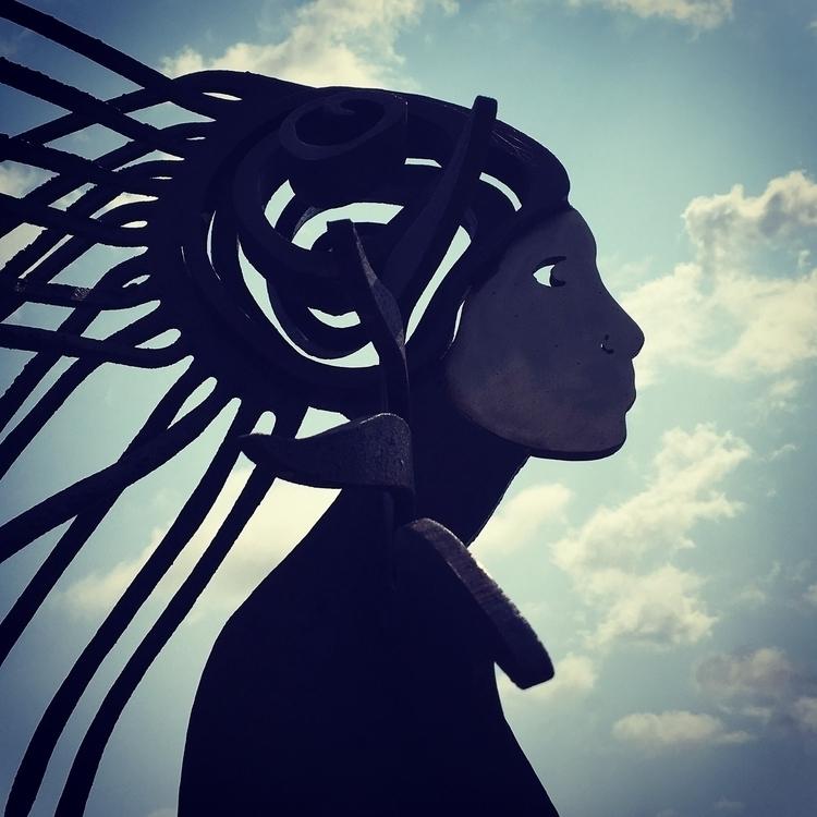 Art sculpture exhibition Cala R - stigergutt   ello
