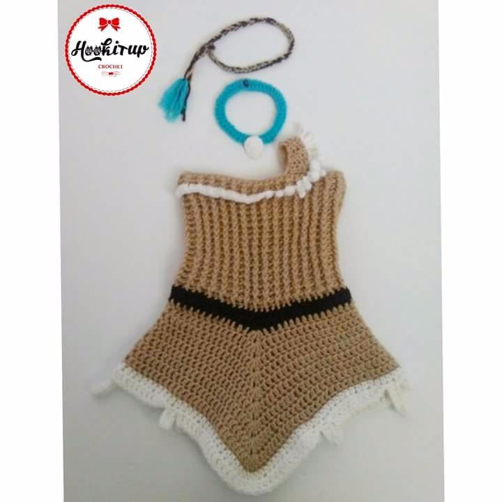 Pocahontas Inspired Costume - handmade - hookitupcrochet | ello