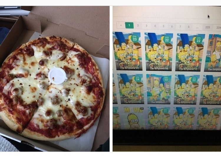 day. Pizza Simpsons Treehouse H - leather666 | ello