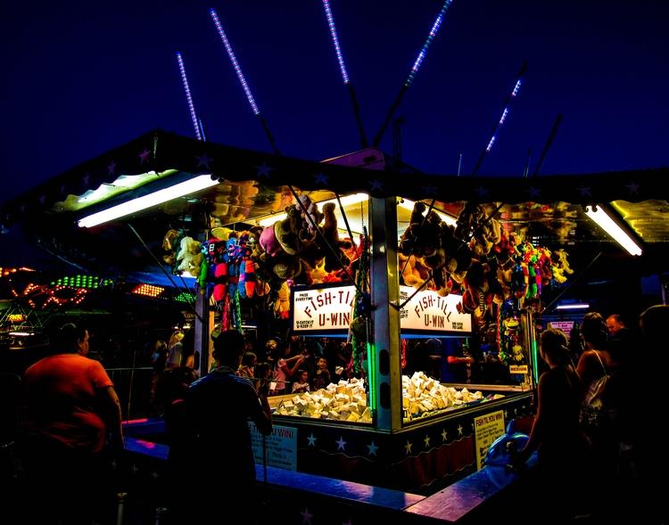 Street Fair - carnival, photography - katcigarette | ello
