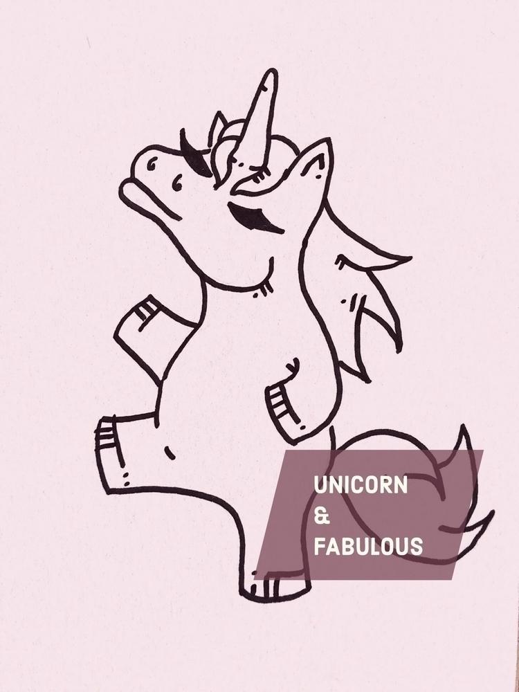 Unicorn fabulous - Madrid, doodle - antoniofse | ello