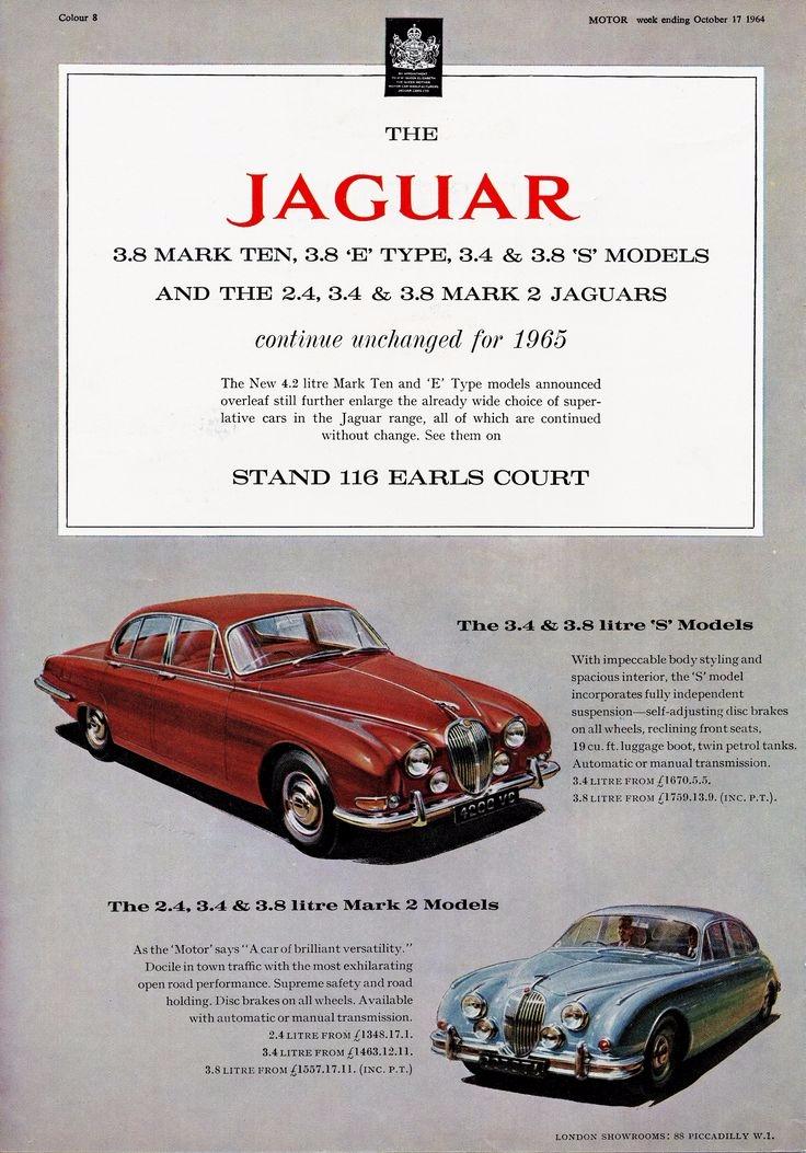 Caturday, VintageAd, Jaguar - robogiggles | ello
