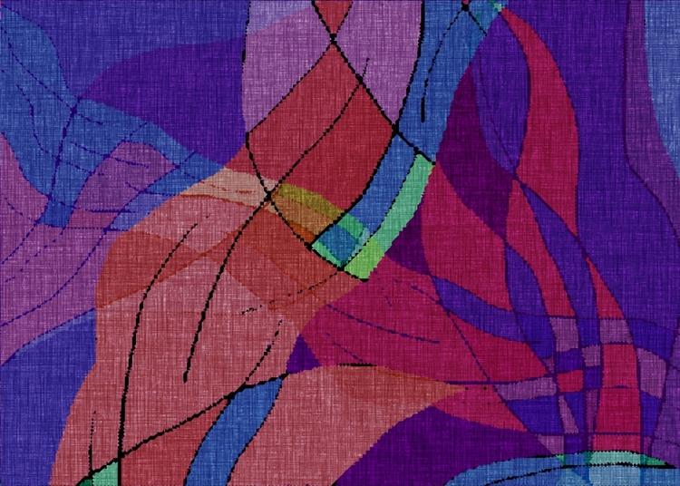 woven series. titled: Stride, P - jmbowers | ello