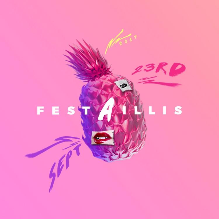 FESTAILLIS 2017 - ananas, design - valenvq | ello