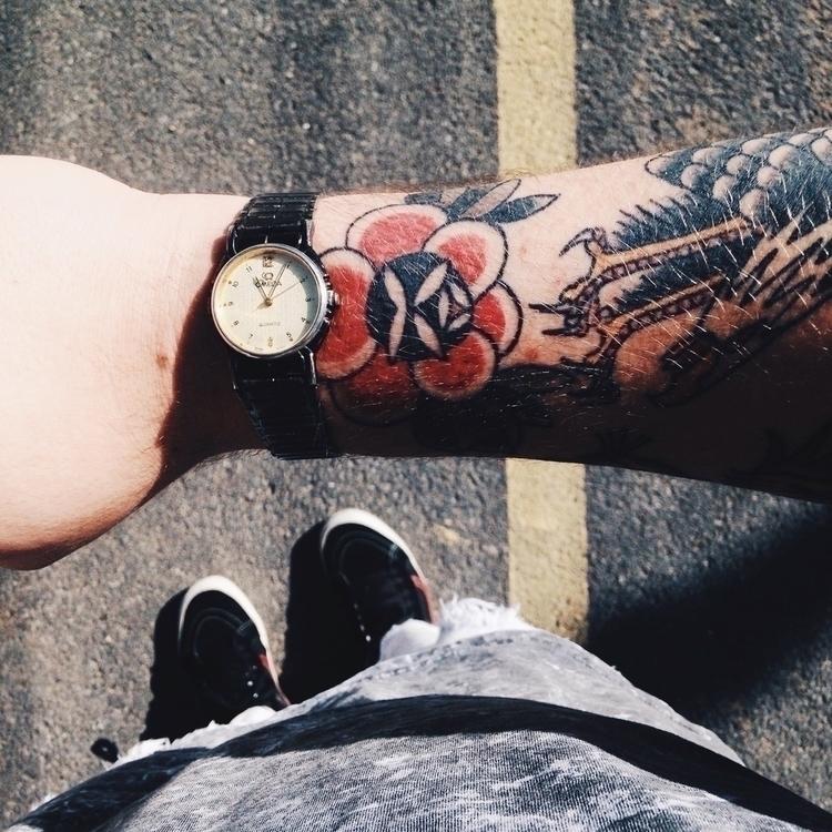 Tattoo // eagle rose - tattoo, ink - mateuszenere | ello