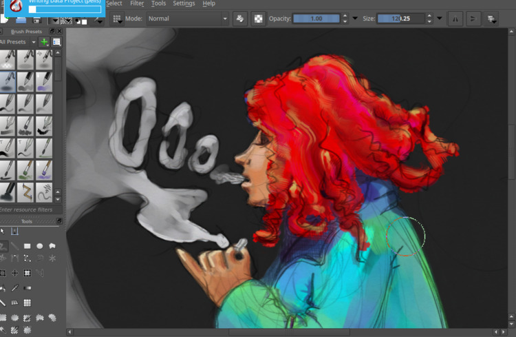 Work progress - wip, weed, smoking - cjburgos | ello