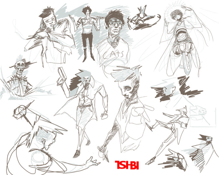 heres sketches istill fUN watev - tsi-bi | ello