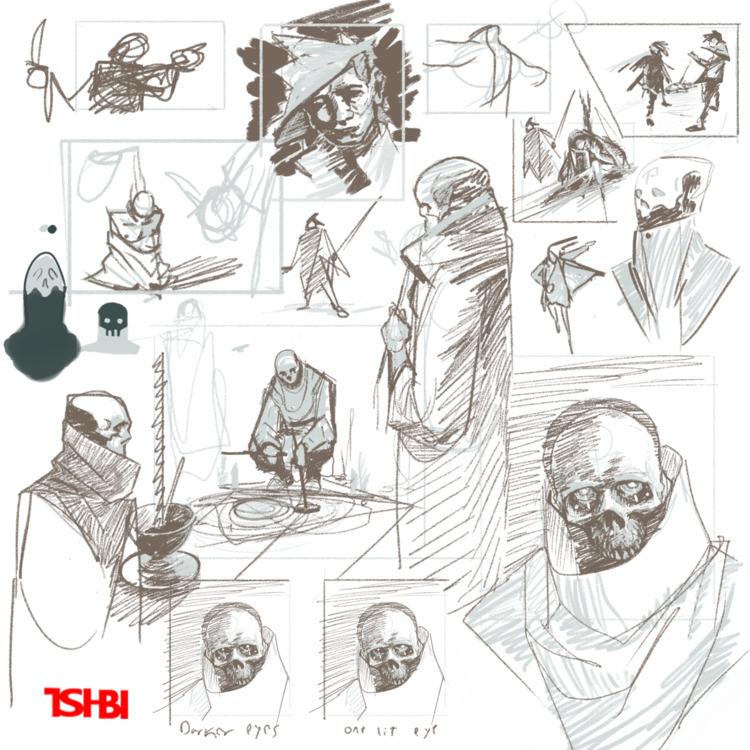 heres cool sketches FUN NICE go - tsi-bi   ello