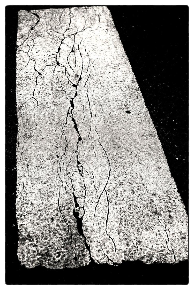 Cracks - shotwithpentax, PentaxK3II - sselvejer | ello