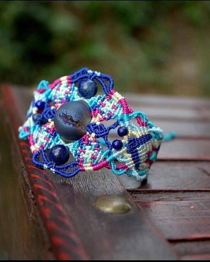 Knot Love - fashion, micromacrame - macrame_birbyzossleptuve   ello