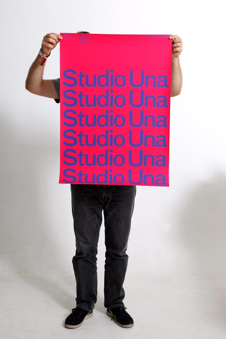 Studio Una Poster - graphicdesign - studiouna | ello